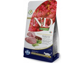 N&D Quinoa CAT Weight Management Lamb & Broccoli 300g