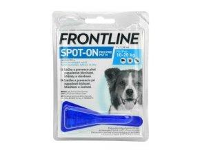 Frontline Spot-On Dog M sol 1x1,34ml MONO - modrý