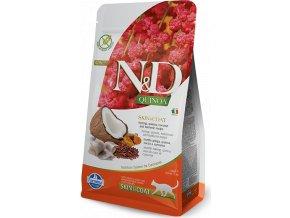 N&D Quinoa CAT Skin & Coat Herring & Coconut 300g
