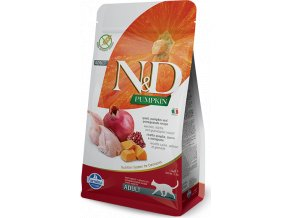 N&D Pumpkin CAT Quail & Pomegranate 300g