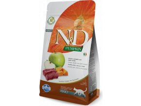 N&D Pumpkin CAT Venison & Apple 1,5kg