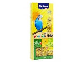 Vitakraft Bird Kräcker  fig/sesam/budgies tyč 3ks