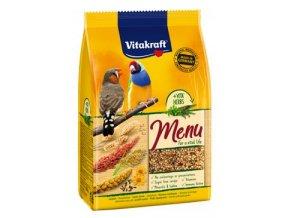 Vitakraft Bird krm. Menu exotis complete premium 1kg