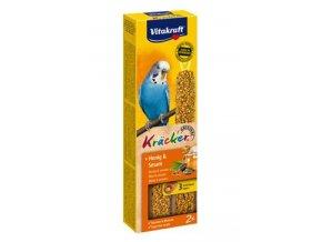 Vitakraft Bird Kräcker  Andulka Honey tyč 2ks