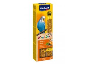 Vitakraft Bird Kräcker  Budgie Honey tyč 2ks