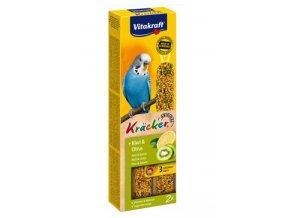 Vitakraft Bird Kräcker  Budgie Kiwi + Citrus tyč 2ks