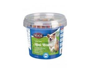Trixie Trainer snack Mini Hearts kuře/jeh/losos 200g