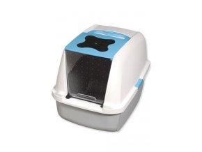 WC kočka kryté domek CATIT Design Modrá 56x38x48cm