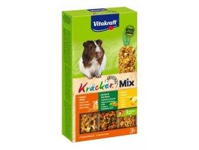 Vitakraft Rodent Guinea pig Kräcker honey/veg/citr 3ks