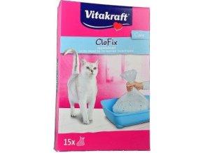 Vitakraft náhr.sáčky do Wc pro kočky CloFix 15ks