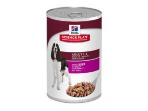 Hill's Canine  konz. Adult Beef  370g