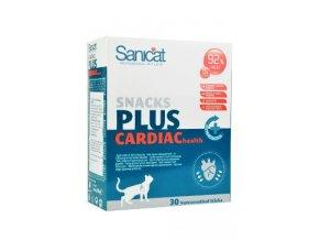 Sanicat snack cardiac 30ks