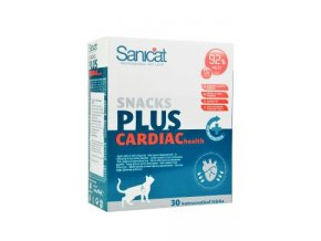 Sanicat snack cardiac 30ks