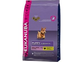 Eukanuba Dog Puppy&Junior Small 7,5kg
