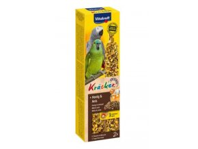 Vitakraft Bird Kräcker  honey African  parrot tyč 2ks