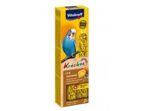 Vitakraft Bird Kräcker  Budgie Egg tyč 2ks