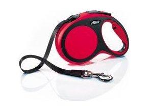 Vodítko flexi Comfort L pásek 5m/60kg červená