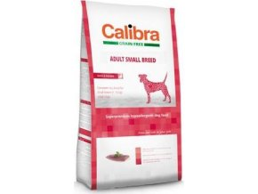 Calibra Dog GF Adult Small Breed Duck 80G - VZOREK