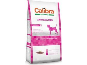 Calibra Dog GF Junior Small Breed Duck  - 80G - VZOREK