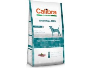 Calibra Dog GF Senior Small Breed Duck 80G - VZOREK