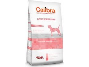 Calibra Dog HA Junior Medium Breed Lamb 80G - VZOREK