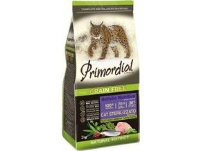Primordial GF Cat Sterilizzato Turkey Herring 2kg