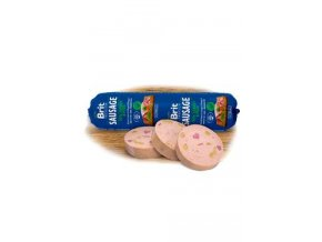 Brit Sausage Turkey & Pea 800g New