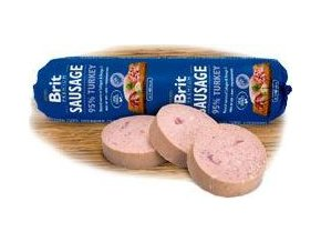 Brit Sausage Turkey 800g New