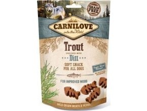 Carnilove Dog Semi Moist Snack Trout&Dill 200g