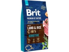Brit Premium Dog by Nature Sensitive Lamb 8kg
