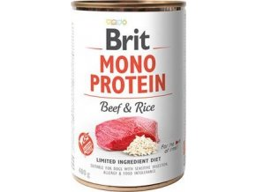 Brit Dog konz Mono Protein Beef & Rice 400g
