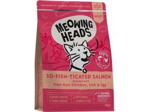 MEOWING HEADS So-fish-ticated Salmon 450g