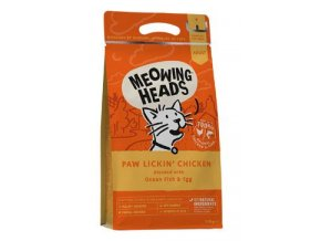 MEOWING HEADS Paw Lickin' Chicken 1,5kg