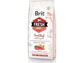 Brit Fresh Dog Beef & Pumpkin Puppy Large 2,5kg