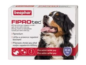 Fiprotec pro psy XL 40-60kg Spot-on 402mg