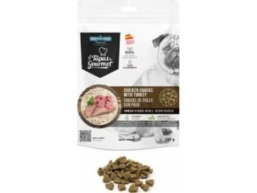 Tapas Gourmet Snack for dog Chicken and Turkey 190g