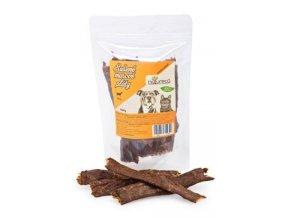 NATURECA pochoutka Masové pláty-Jehně,  100%maso 100g