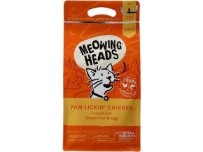MEOWING HEADS Paw Lickin' Chicken 1,5kg - výprodej