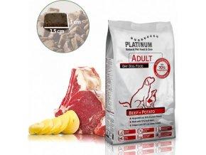 Platinum Adult Natural Beef+Potatoes 5kg