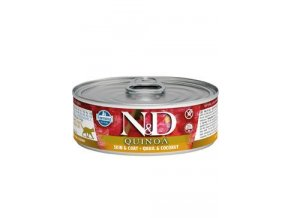 N&D CAT QUINOA Adult Quail & Coconut 80g