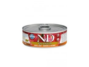 N&D CAT QUINOA Adult Herring & Coconut 80g