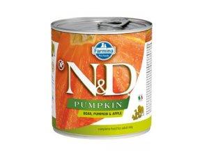 N&D DOG PUMPKIN Adult Boar & Apple 285g