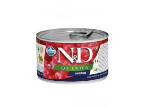 N&D DOG QUINOA Adult Digestion Lamb & Fennel Mini 140g