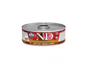 N&D CAT QUINOA Adult Venison & Coconut 80g