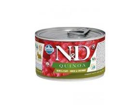 N&D DOG QUINOA Adult Duck & Coconut Mini 140g