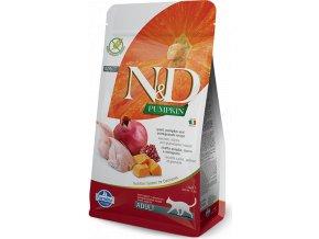 N&D Pumpkin CAT Quail & Pomegranate 5kg