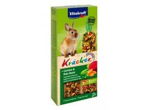 Vitakraft Rodent Rabbit poch.Kräcker zel,červ.řepa 2ks