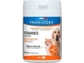 Francodex Vitamins pes, kočka 60tab