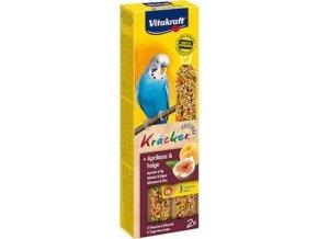 Vitakraft Bird Kräcker  Andulka Meruňka+Fík tyč 2ks