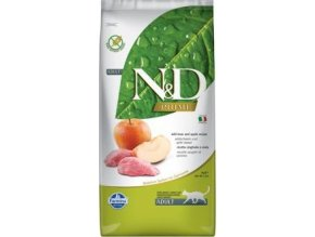 N&D PRIME CAT Adult Boar & Apple 10kg